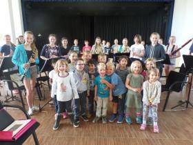 Zwergenwiese  meets  Orchesterklasse 7a