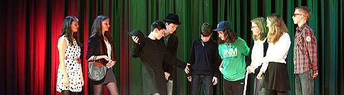 Auftritte der English Drama Group